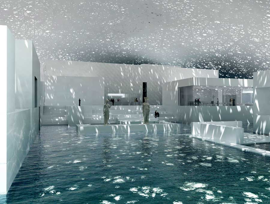 Louvre Abu Dhabi Renderings: Copyright Ateliers Jean Nouvel